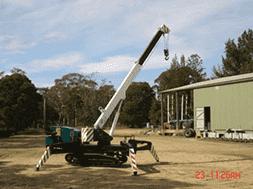 Spider Crawler Crane
