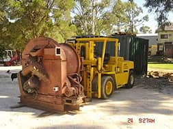 Machinery Moving vehicle