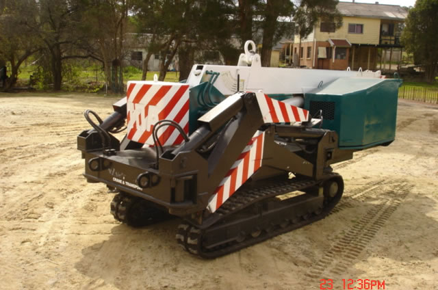 spider mini crawler crane