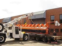 on road lift cranes