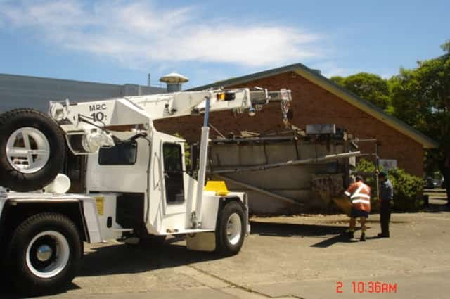 Plant & equipment removal