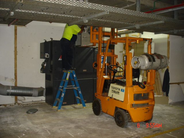 Machinery Removal